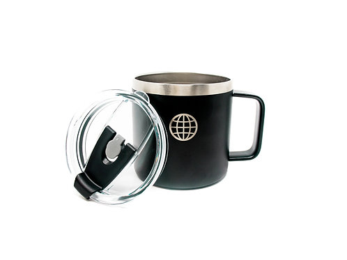 Replacement Lids for 14 oz Stainless Steel mugs - 2 Pack Black blue
