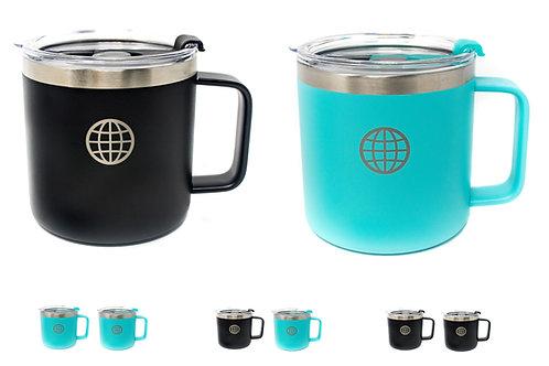 14 Oz Coffee Mugs - 2 Pack