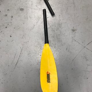 Kayak Paddle Before