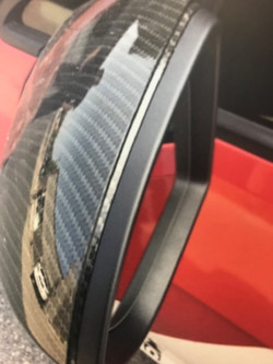 Carbon Fiber Wrap Mirror