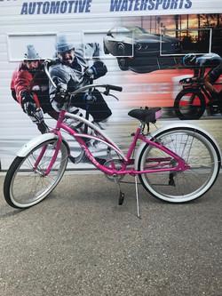 Pink Bike Wrap