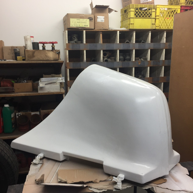 Propane Cover After Repair