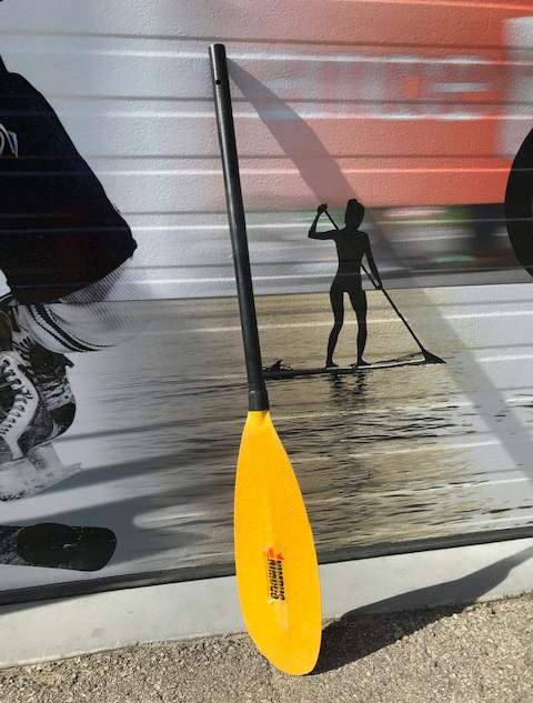 Kayak Paddle After Repair