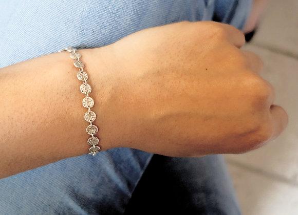 Bracelet Bubble Argent