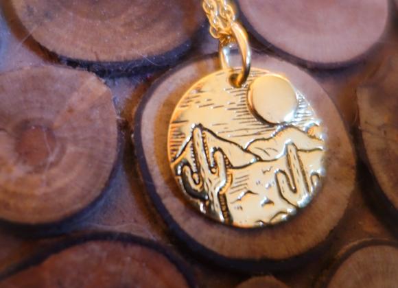 Mini Médaille Arizona Or