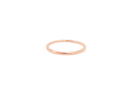 Bague De Phalange Simple Or Rose