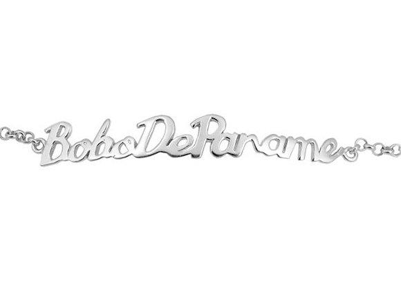 Bracelet Bobo De Paname Argent