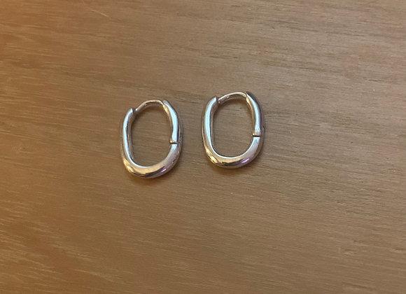 Boucles d'oreilles miniminis  argent