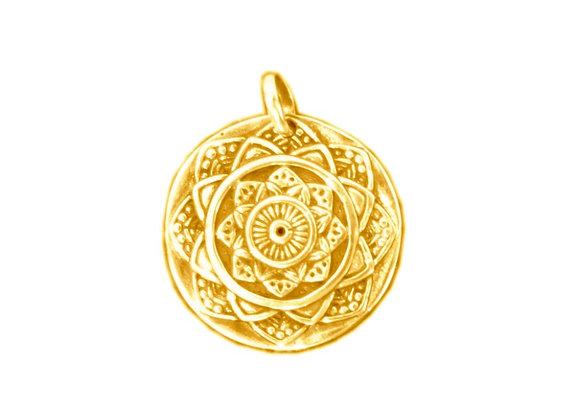 Médaille Mandala  Or