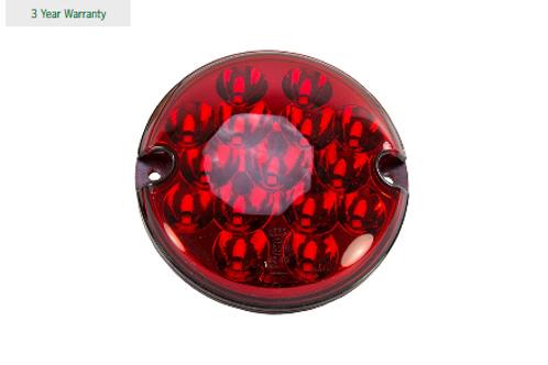 LED Light Red Fog 95mm Red