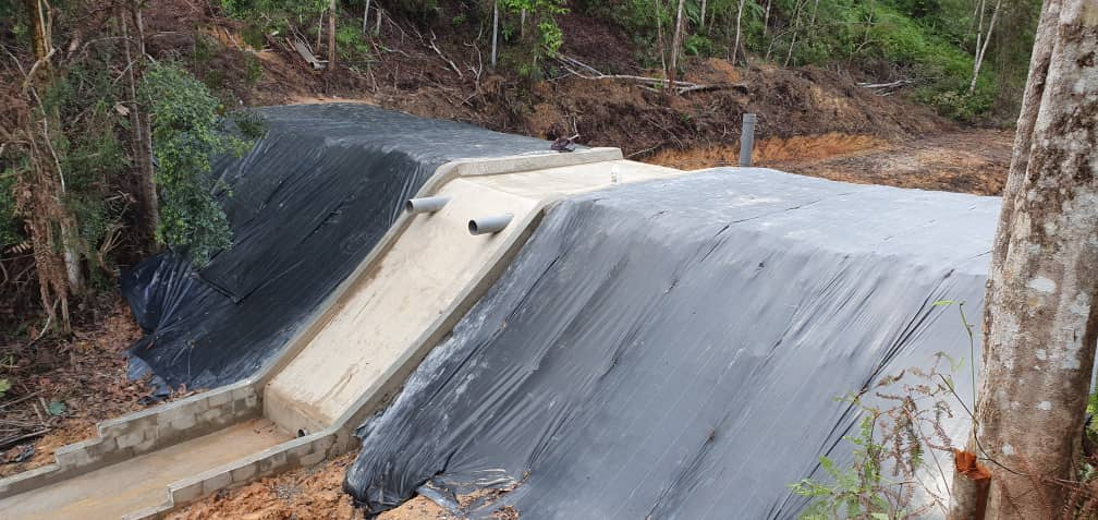 One of our new dams
