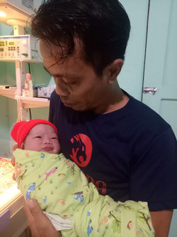 Welcome to the world, Gabrian!