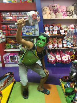 Hulk or Thor?