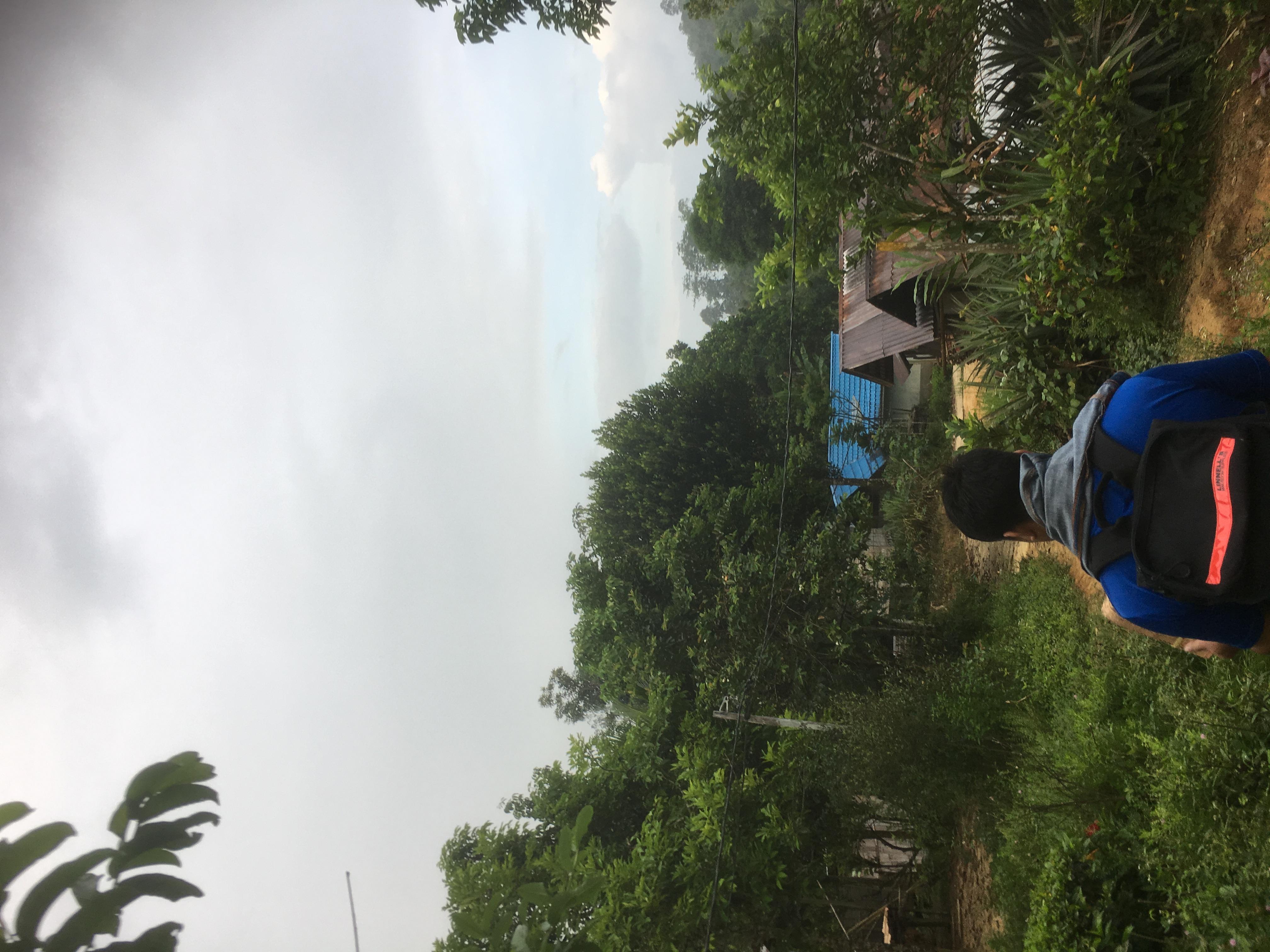 Visiting villages