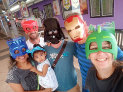 We hae some amazing superheros serving the Lord!