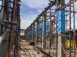 Renovation work at SD