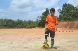 Gio our future footballer!