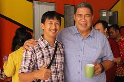 Pak Joko and Pastor Reynold