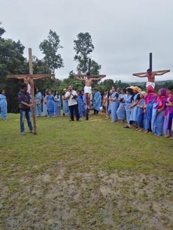 Easter Sunday drama