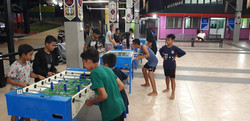 Evening table football competitions!