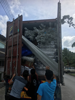 Container coming!