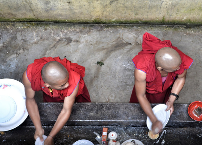 How to clean like a Zen Monk