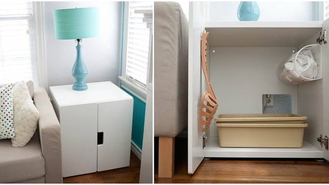 8 clever ways to disguise a litter box