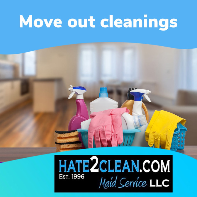 Moving out cleanings in Houston, TX