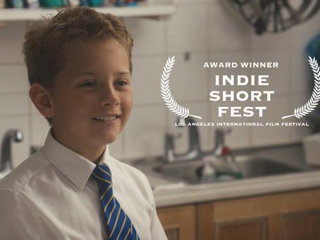 Winners at Indie Short Film Fest!!