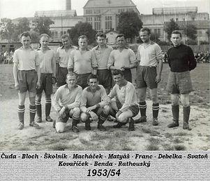 Spartak Opočno 1953