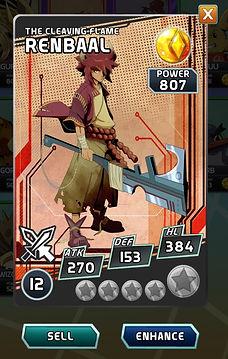 Toh'Ken Renbaal mobile card game