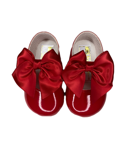 Red Patent Soft Sole Shoes