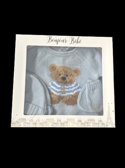 Blue Bear 4 Piece Gift Box