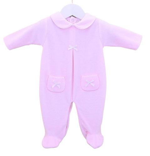 Pink Snuggle Sleepsuit
