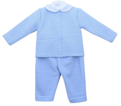 Blue Two Piece Suit