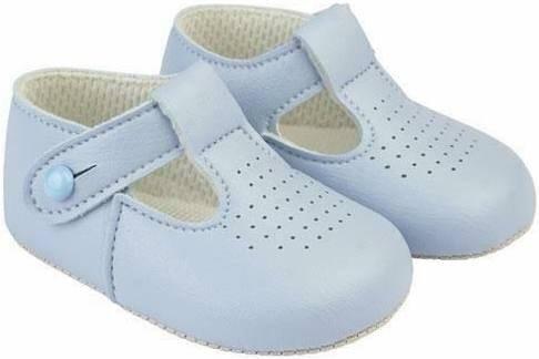 Blue Soft Sole Shoes