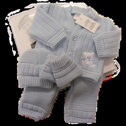 Baby Blue 4pce Knit Box Set