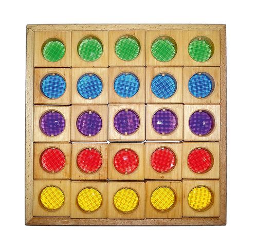 Bauspiel | Colored Windows 25 pcs