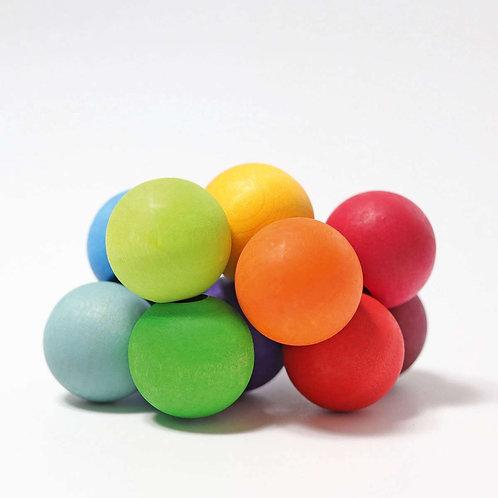 Grimm's | Rainbow Beads Grasper