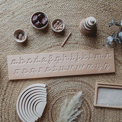 Cursive Alphabet Tracing Board