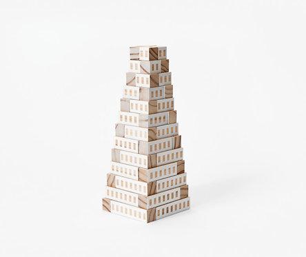 Blockitecture | Tower (white)