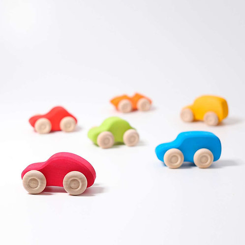 Grimm's | Colored Wooden Cars