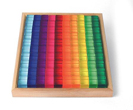 Bauspiel | 100 Lucent Cubes
