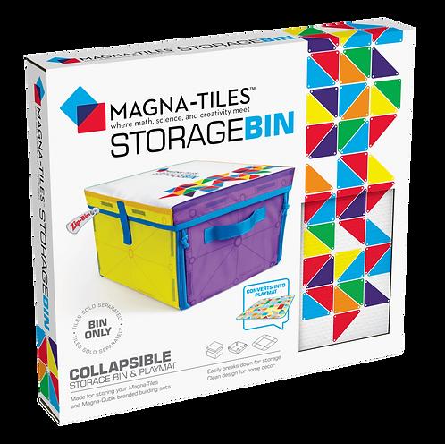 Magna-Tiles | Storage Bin & Interactive Play-Mat