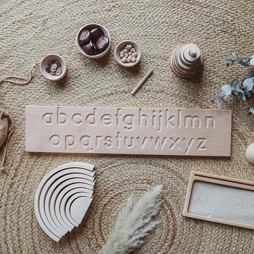 Alphabet Tracing Board