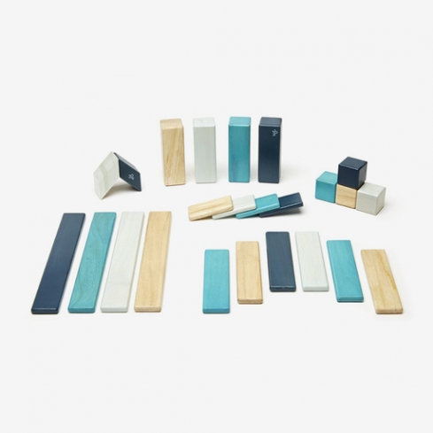 Tegu | 24-Piece Set (Blues)