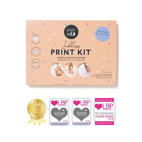 BABYink Blue Ink-less Print Kit