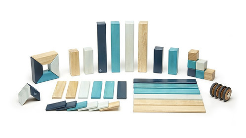 Tegu | 42-Piece Set (Blues)