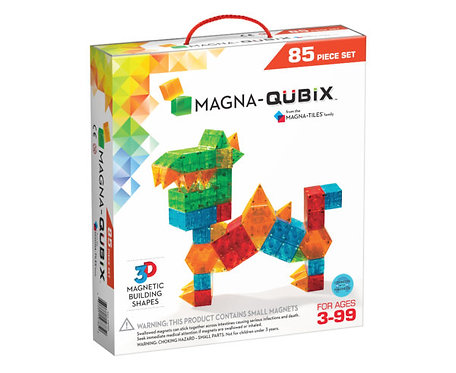 Magna-Tiles | Qubix 85-Piece Set