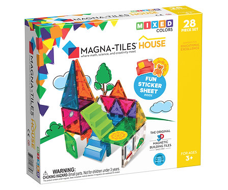 Magna-Tiles | House 28-Piece Set